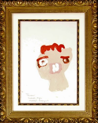 children's art frames