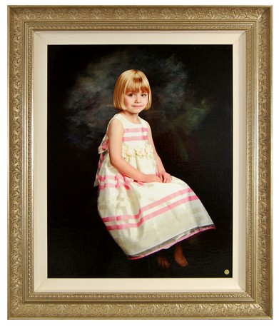 Example of a Custom Fine-Art Frames by FrameStore.