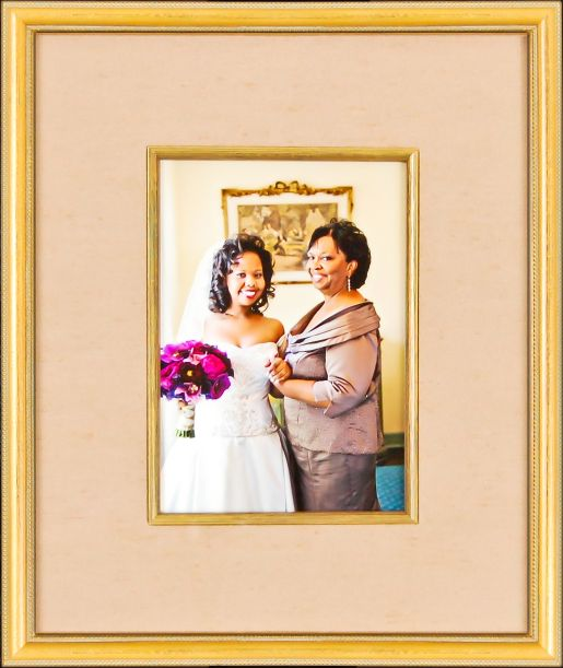 Custom Wedding Frame Example
