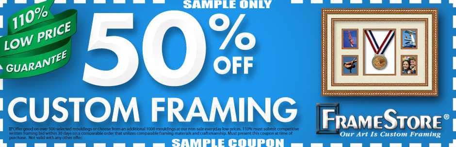 FrameStore 50% off Coupon