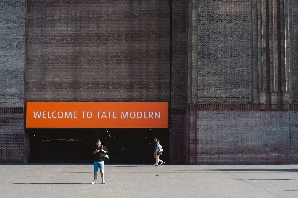 entrance to the Tate Museum